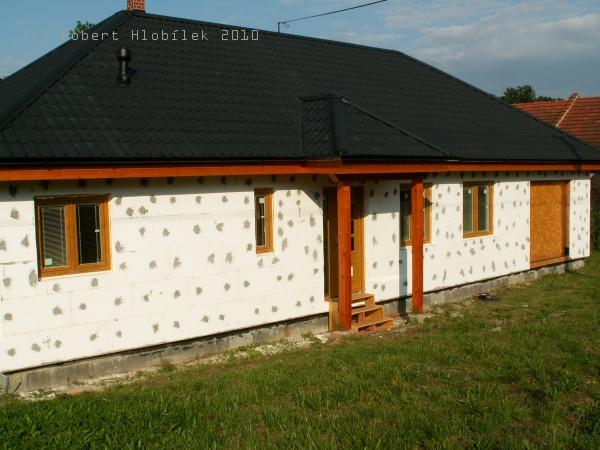 Zateplení dřevostavby polystyrenem